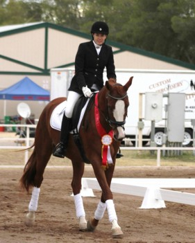 Champion Trakehner gelding Paladin SF by Aul Magic